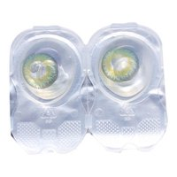 Daily Color Contact Lens Glossy Green