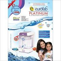 Eurofab Platinum RO Water Purifier