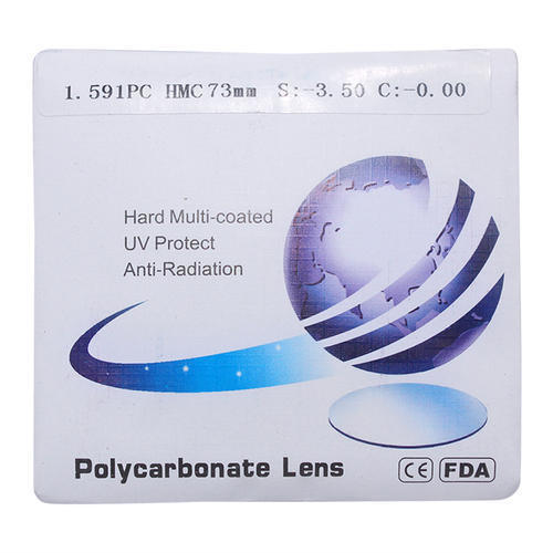 Polycarbonate HMC Lens