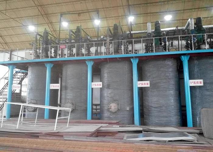 Liquid sodium silicate plant / Water glass making machine