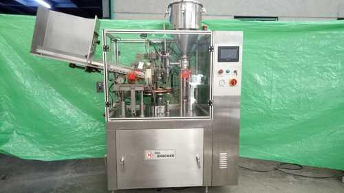 Automatic Single Head Tube  Filling & Sealing Machine
