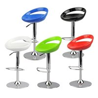 1/6 Hotel Bar Stool Accessories in Different Color (Silver)