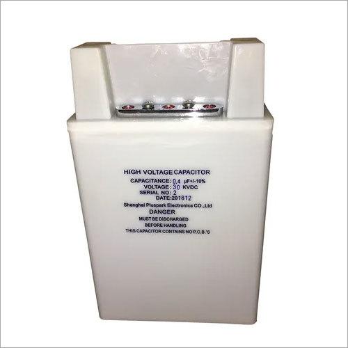High Voltage Capacitor 30kV 0.4uF,1pps Pulse HV Capacitor 400nF 30kV