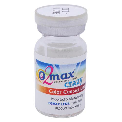 Crazy Color Contact Lens Brown- 1 tone