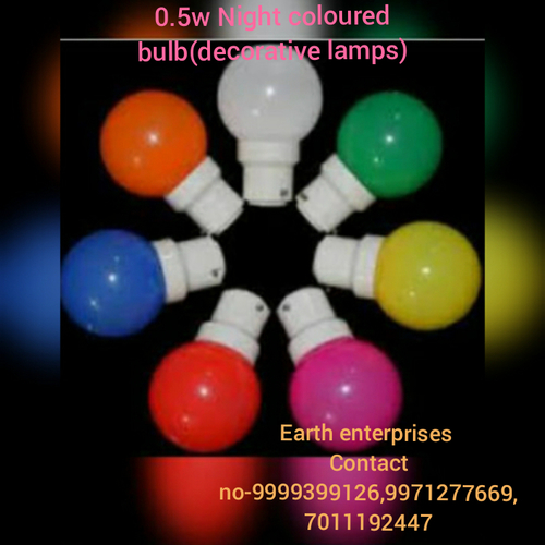 0.5W Colored LED Bulb