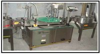 Monoblock Single Head Mosquito Repellent Filling and Capping Machine