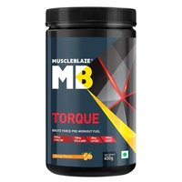 MuscleBlaze Torque Pre-Workout, 0.99 lb Orange