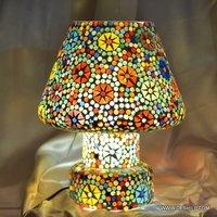 MULTI MOSAIC BIG TABLE LAMP