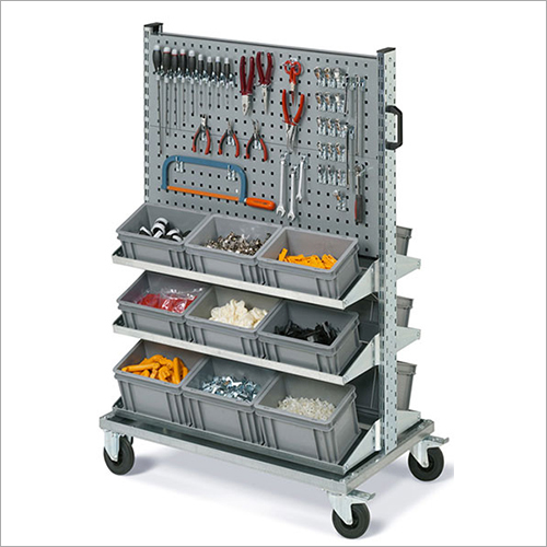 Industrial Replenishment Trolley