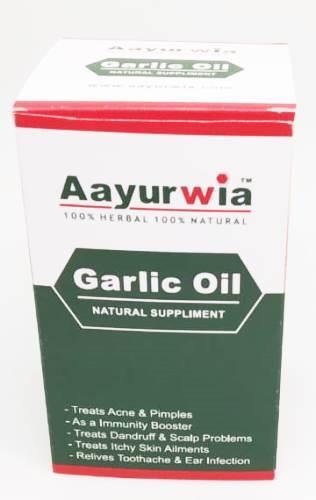 Aayurwia Garlic Oil Capsules