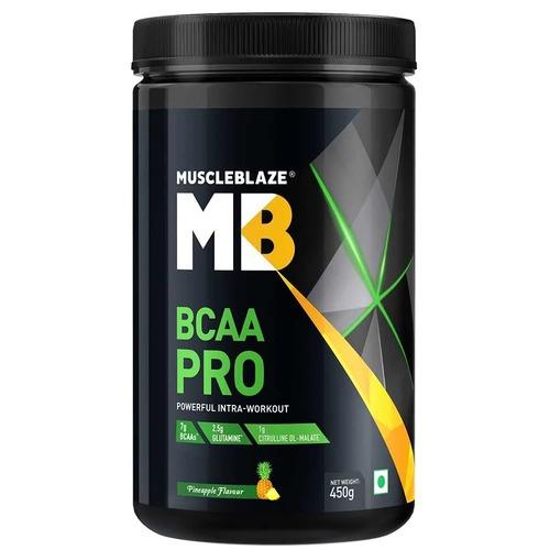 MuscleBlaze BCAA Pro, 0.99 lb(0.45kg) Pineapple