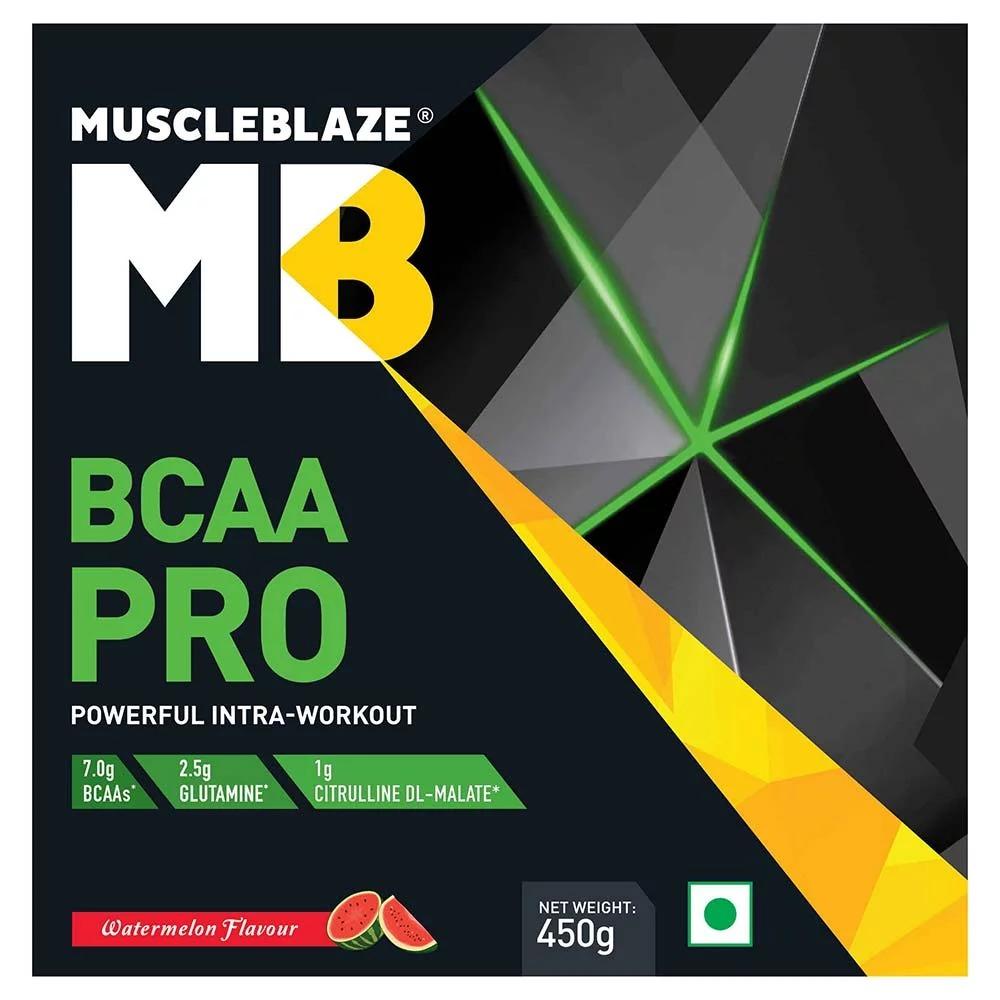 MuscleBlaze BCAA Pro, 0.99 lb Watermelon