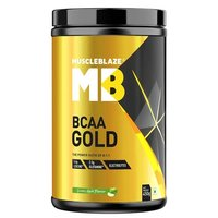 MuscleBlaze BCAA Gold 8:1:1, 0.99 lb(0.45kg) Green Apple