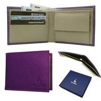 Genuine Leather RFID Bifold Wallet
