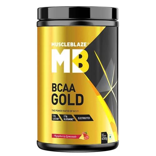 MuscleBlaze BCAA Gold 8:1:1, 0.99 lb(0.45kg) Raspberry Lemonade