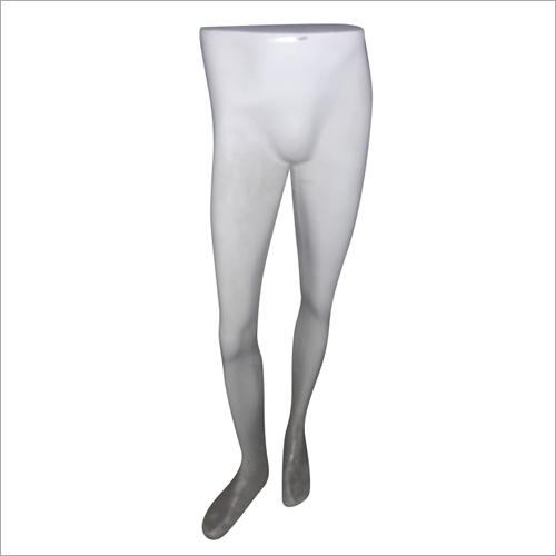 Male Leg White Dummy Mannequin