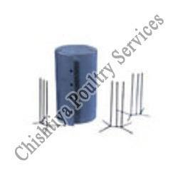 CHICK GUARD WITH THREE MS STAND