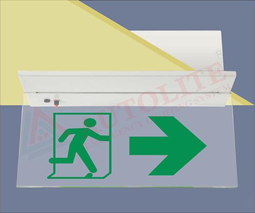 Sleek Exit / Egress (Edgelit) Lights