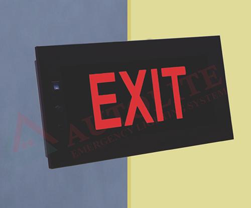 Auditorium Series Exit Lights