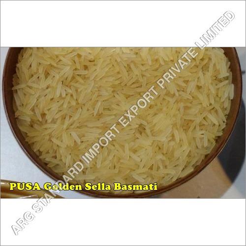 Pusa Basmati White Creamy Sella Rice