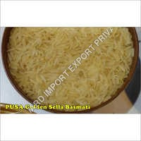 Pusa Basmati White Creamy Sella Rice