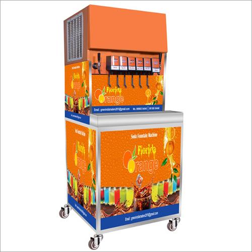 8 Flavour Soda Machine