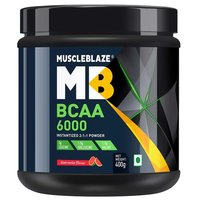 MuscleBlaze BCAA 6000, 0.88 lb(400g) Watermelon