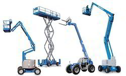 Boom Lift Solid Resilient Tyres