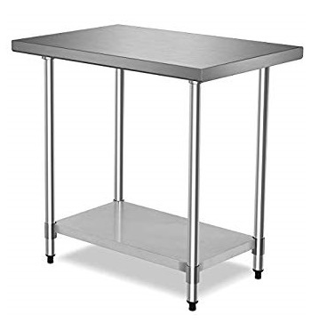 Stainless Steel Commercial Work Food Prep Table