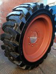 High Load Solid Resilient Tyres