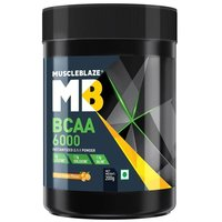 MuscleBlaze BCAA 6000, 0.44 lb (200g)Tangy Orange