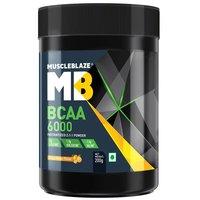 MuscleBlaze BCAA 6000, 0.44 lb (200g)Tangy Orange