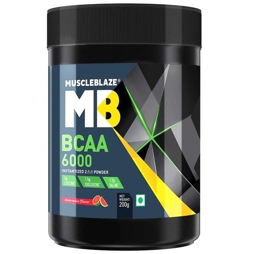MuscleBlaze BCAA 6000, 0.44 lb (200g)Watermelon