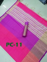 Woman New cotton saree