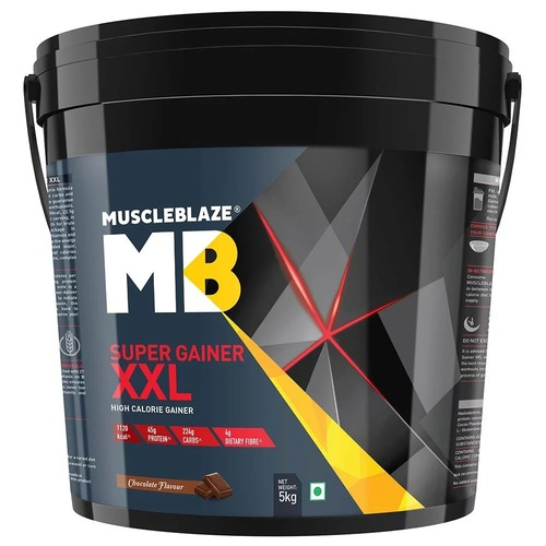 MuscleBlaze Super Gainer XXL, 11 lb(5kg) Chocolate