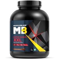 MuscleBlaze Super Gainer XXL, 4.4 lb(2kg) Chocolate