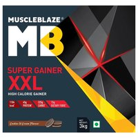 MuscleBlaze Super Gainer XXL, 6.6 lb Cookies & Cream