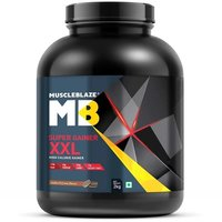 MuscleBlaze Super Gainer XXL, 4.4 lb (2kg)Cookies & Cream