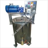 Soap Double Jacketed Vessel