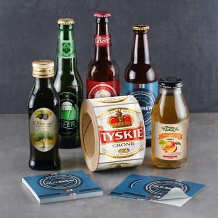 Bottle Sticker Printing Services