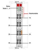 4 CHANNEL DIGITAL OUTPUT WAGO 750-515
