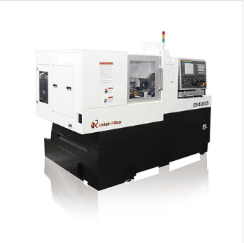 Double spindle machine SM205 SERIES SWISS CNC