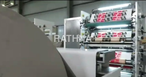 Three Colour Reel to Reel Flexo Printing machine