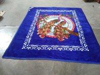Animal Print Mink Blankets