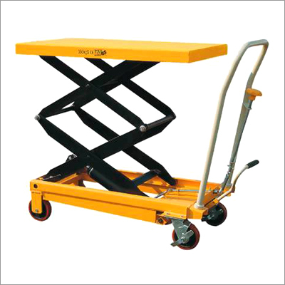 Movable Scissor Table Trolley