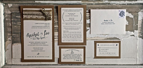Simple Wedding Cards Printing Services