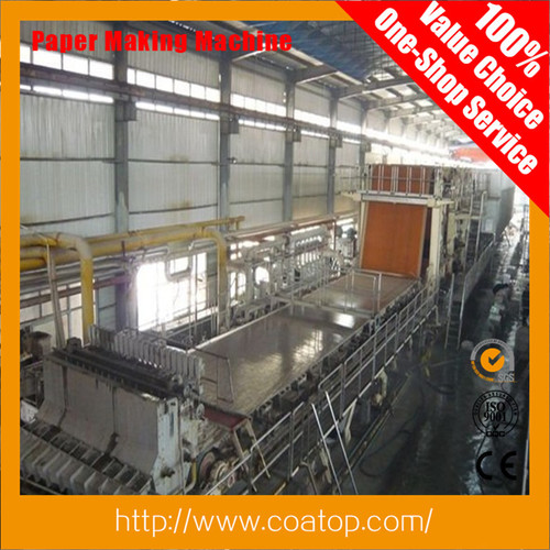 Single Fourdrinier Kraft Paper Making Machine