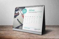 Personalized Table Top Calendar