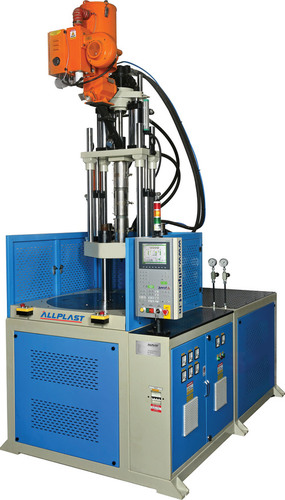Rotary Vertical Injection Moulding Machine
