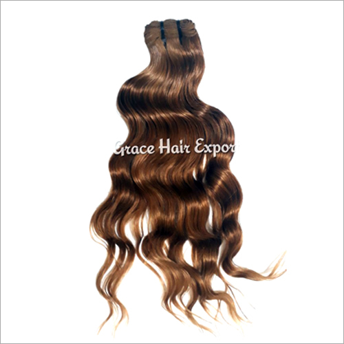 Chocolate Brown Indian Wave Hair Extension